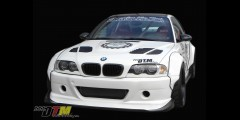 BMW E46 M3 GTR-S Rivet On Fenders