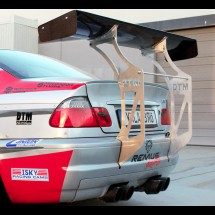 BMW E46 M3 Chassis Mounted Race Spoiler Wing 66""