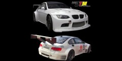BMW E92 M3 GTR Race/ ALMS Style Widebody Kit