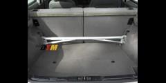 BMW E36 318ti 3 Piece Rear Strut Bar Aluminum Mason