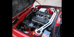 BMW E30 Front Strut Bar Aluminum Mason
