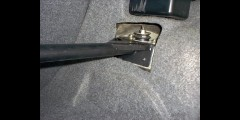 BMW E36 One Piece Rear Strut Bar Aluminum Mason