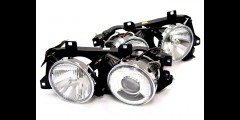BMW E30 84-91 Euro Smiley Projector Headlights