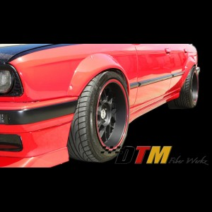 BMW E30 Rivet On Style Front + Rear Fender Flares