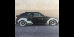 BMW E36 318ti Compact GTR-S Rivet On Front + Rear Fender Flares