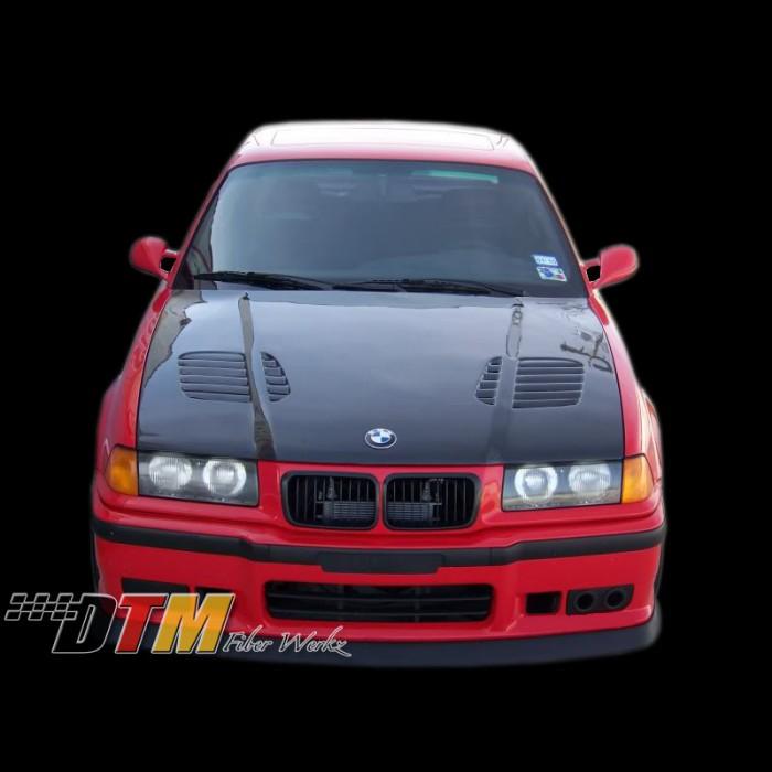 Bmw E36 92 99 Gtr Style Vented Hood