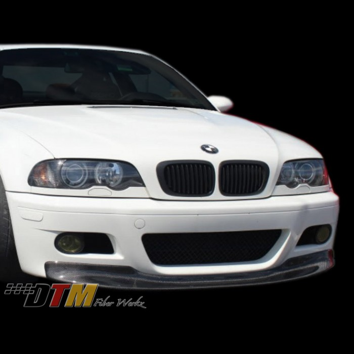 bmw e46 m3 1 piece style front lip fits oem bumper only. Black Bedroom Furniture Sets. Home Design Ideas
