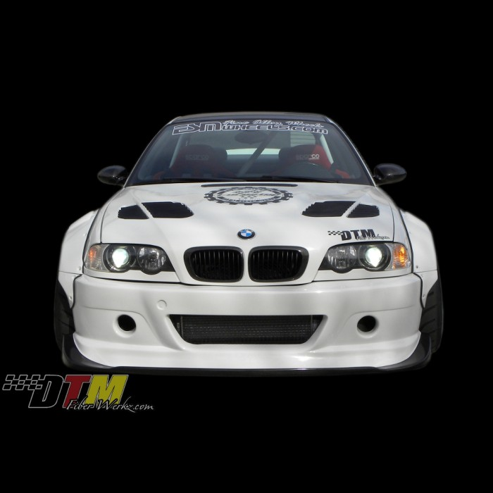 Bmw E46 M3 Gtr S Style Front Bumper With Diffuser