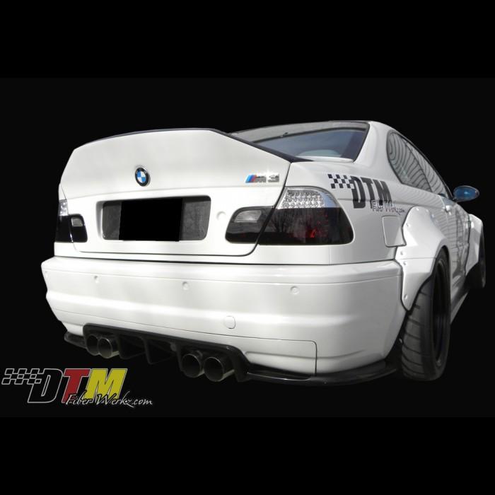 Bmw E46 M3 Gtr S Race Diffuser Rear Diffuser