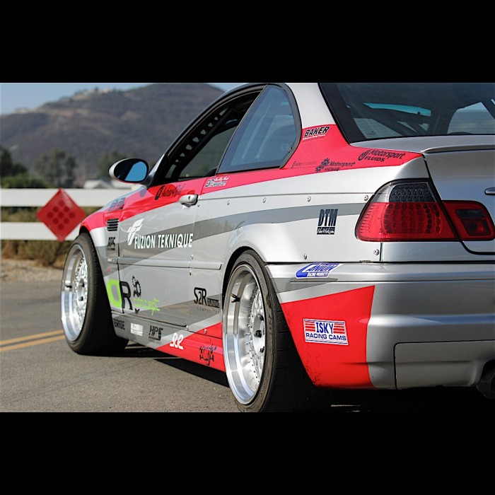 Bmw E46 M3 Oem Style Rear Over Fenders