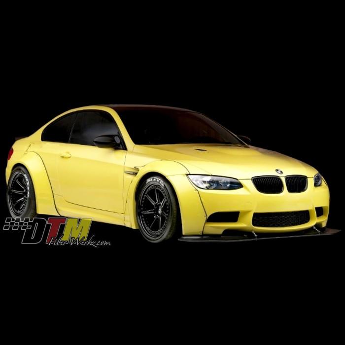 Bmw M3 Gtr: BMW E92 M3 GTR-S Rivet On Fender Flares