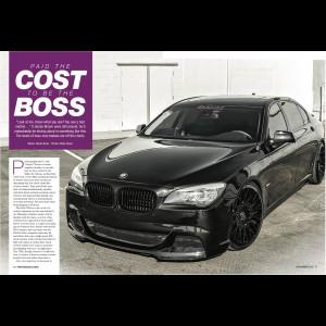 BMW 7 series F01 / F02 DTM F10 M5 Style Full Body Kit
