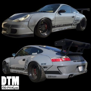 996 to 997 DTM Style Widebody Fender Flares