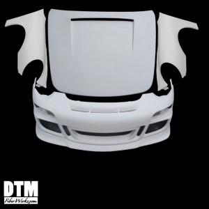 996-997 GT3 Style Front Conversion Kit