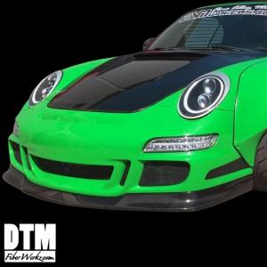 Porsche 997 05-08 GT3.2 Lower Lip Splitter