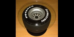 F1 Racing Wheel Tire Table Furniture