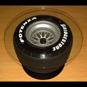 F1 Racing Wheel Tire Table Furniture