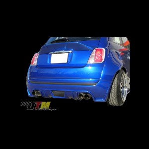 Fiat 500 DTM Rear Bumper Add On