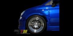 Fiat 500 POP DTM Widebody Fenders
