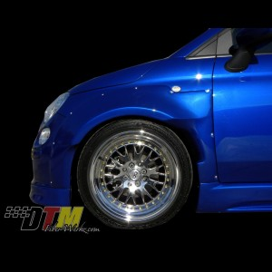 Fiat 500 POP DTM Widebody Fenders